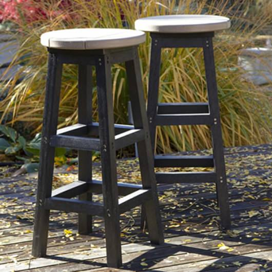 Poly lumber Adirondack Bar Stool