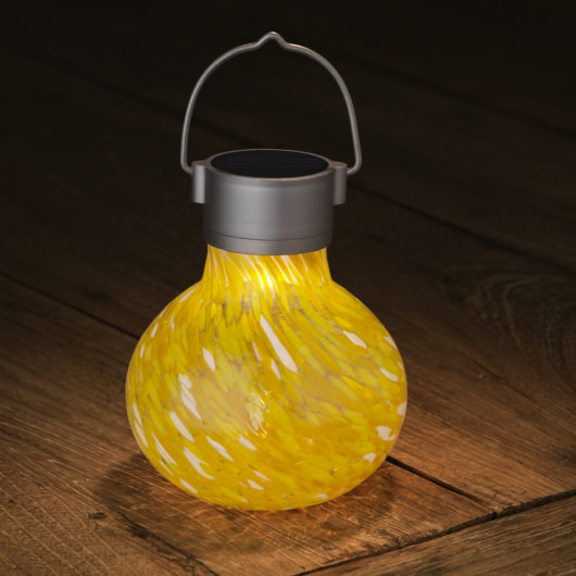 Solar Tea Lantern in Gold Color