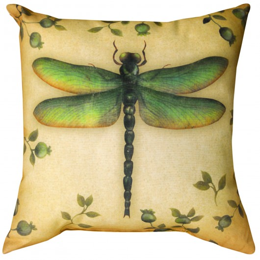 Insects Dragonfly Outdoor Pillow (18