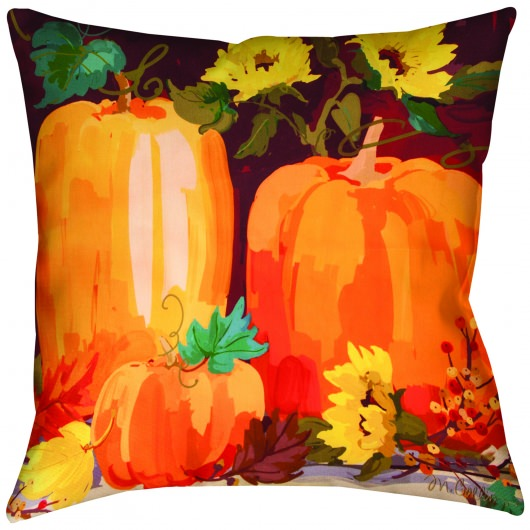 Pumpkins Outdoor Pillow (18
