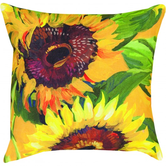 Sunflower II Outdoor Pillow (18