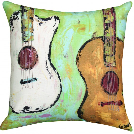 Strung Up Outdoor Pillow (18