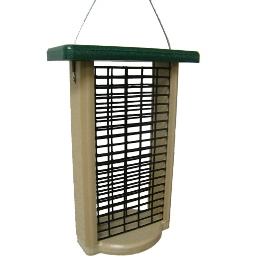 Recycled Double Cake Suet Feeder