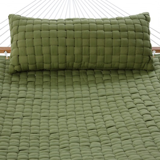 Soft Weave Hammock - Light Green