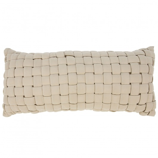 Antique Beige Soft Weave Hammock Pillow