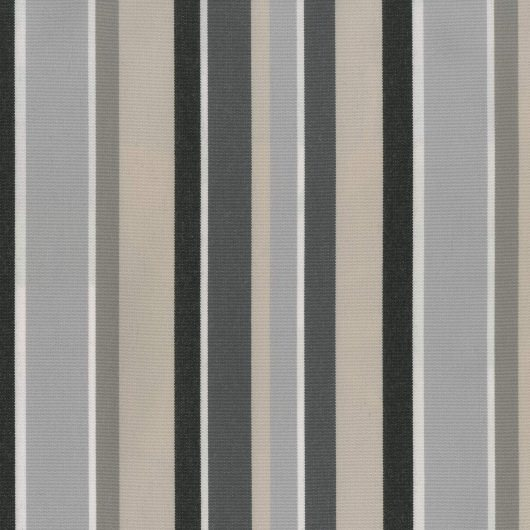 Roman Marble Striped Extrawide Outdoor Curtain