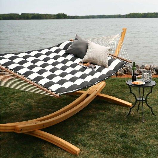 pillowtop hammock   cabana classic cabana classic pillowtop hammock   dfohome  rh   dfohome