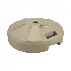 PLC Beige Umbrella Base 22 in Diameter