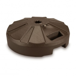 PLC Bronze Umbrella Base 22 in Diameter