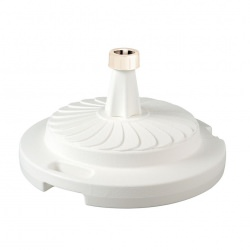 Patio Living Concepts 98 lb Umbrella Base Unfilled- White