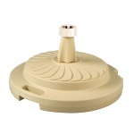 Patio Living Concepts 95 lb Umbrella Base Unfilled -Beige