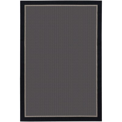 Tides Freeport Black/Taupe Outdoor Rug (2ft x 3ft 7in)