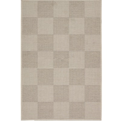 Tides Concord Cream/Cocoa Outdoor Rug (2ft 7in x 8ft 2in)