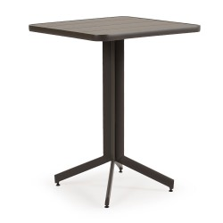 29 in Square Pedestal Bar Table