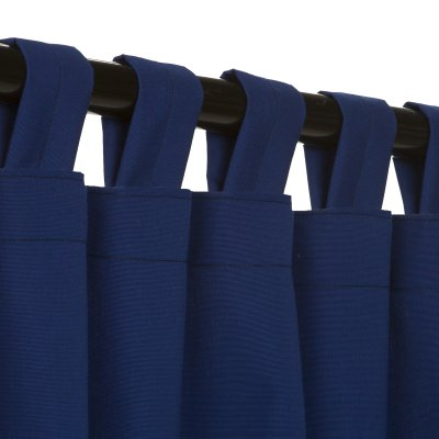 Blue Outdoor Curtains