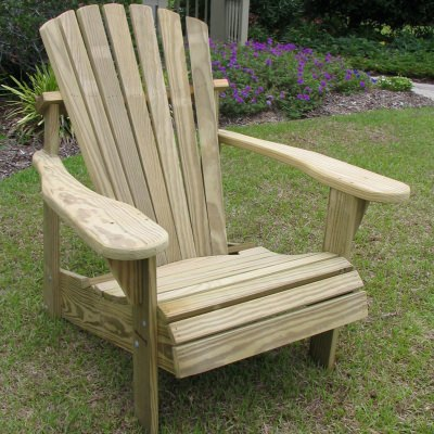 Classic Adirondack Chair - Natural