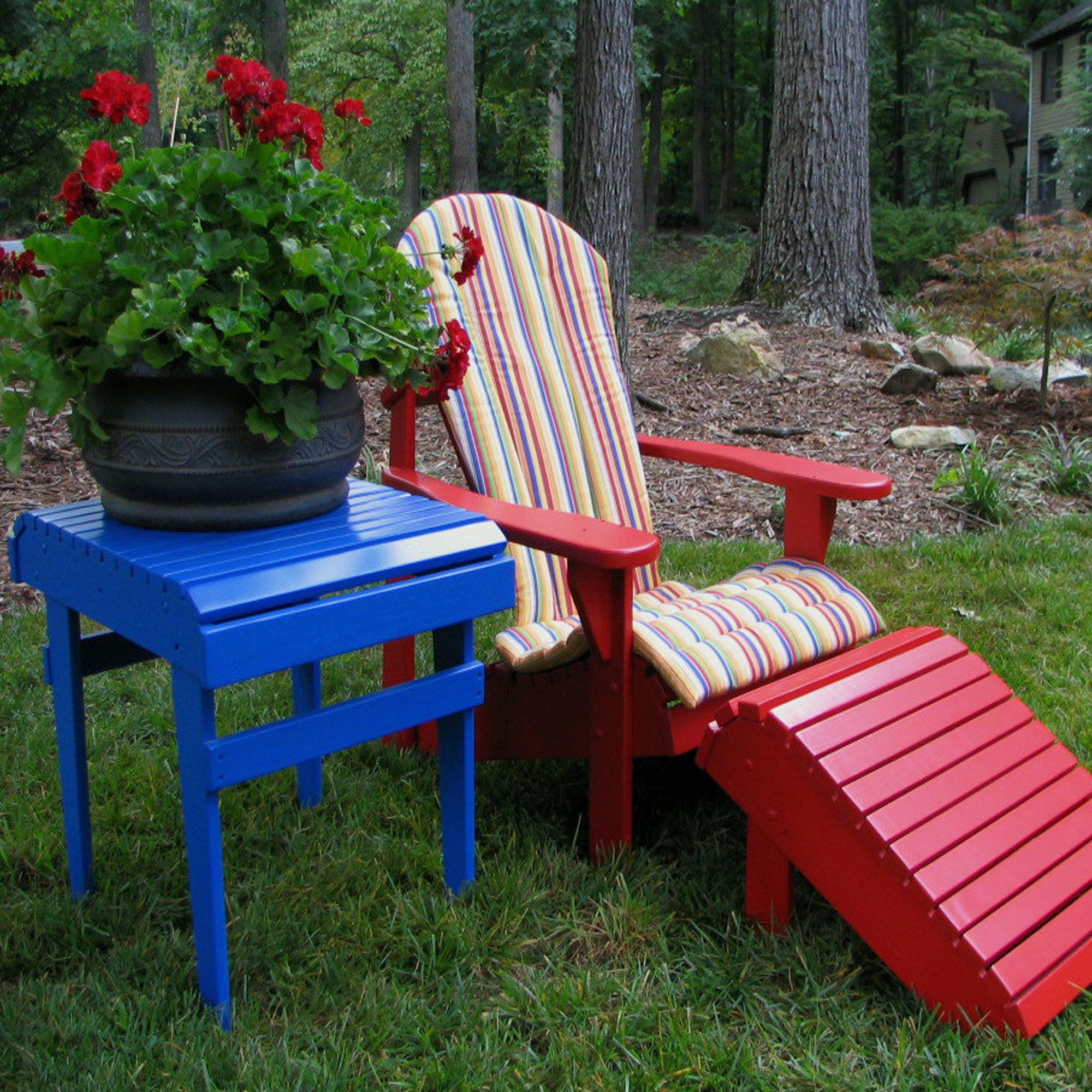 Bon Castanet Beach Adirondack Chair Cushion