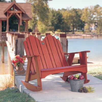 Original Collection Adirondack Dbl Rocker - Pine -