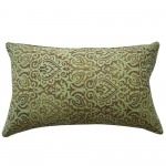 12in x 20in Green Jaipur Outdoor Pillow