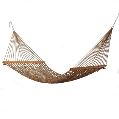 Single Original Duracord Rope Hammock - Antique Brown