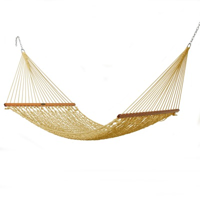 Single Original Duracord Rope Hammock - Tan