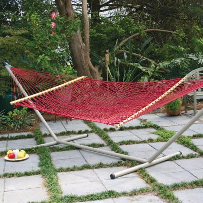 Original Pawleys Island DuraCord Hammock with Metal Stand