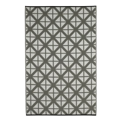 Manchester Paloma and White Recycled Indoor/Outdoor Mat
