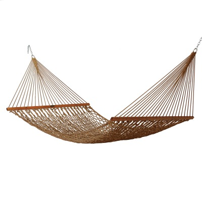 Deluxe Original DuraCord Rope Hammock - Antique Brown