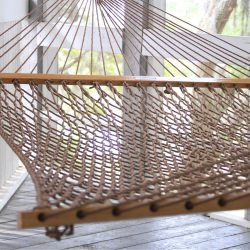 Presidential Original DuraCord Rope Hammock - Antique Brown