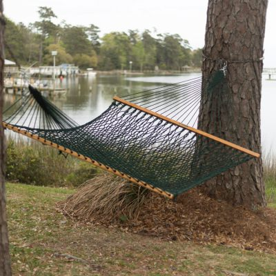 presidential original duracord rope hammock   green stretch out with our extra wide hammocks   dfohome  rh   dfohome