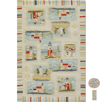 Outdoor Escape Cape Hatteras Outdoor Rug