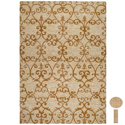 Fresco Estates Sand Outdoor Rug