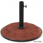 Resin Compound Roman Numeral Umbrella Stand Available in 7 colors
