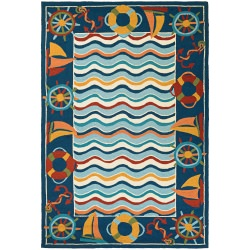 Beachfront North Bend Rug  Multi
