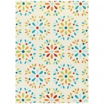 Beachfront Radiant Daisy Rug Ivory/Multi