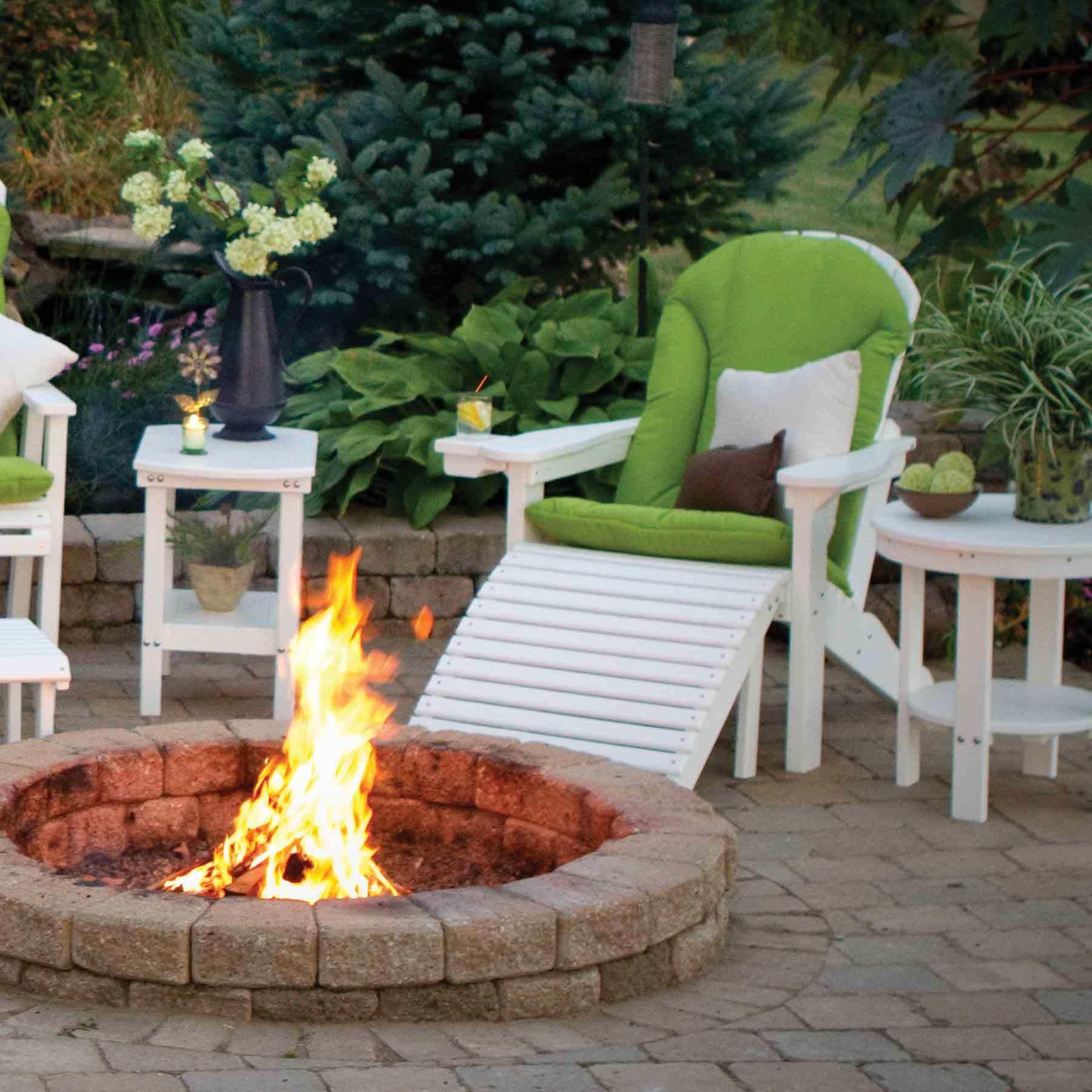Elegant ... Single Comfo/Cozi Sunbrella Seat Cushion Home Design Ideas