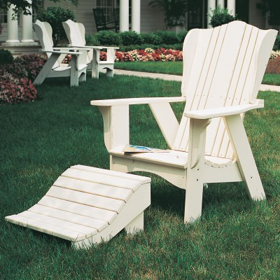 Plantation Collection Adirondack Chair - Poly -