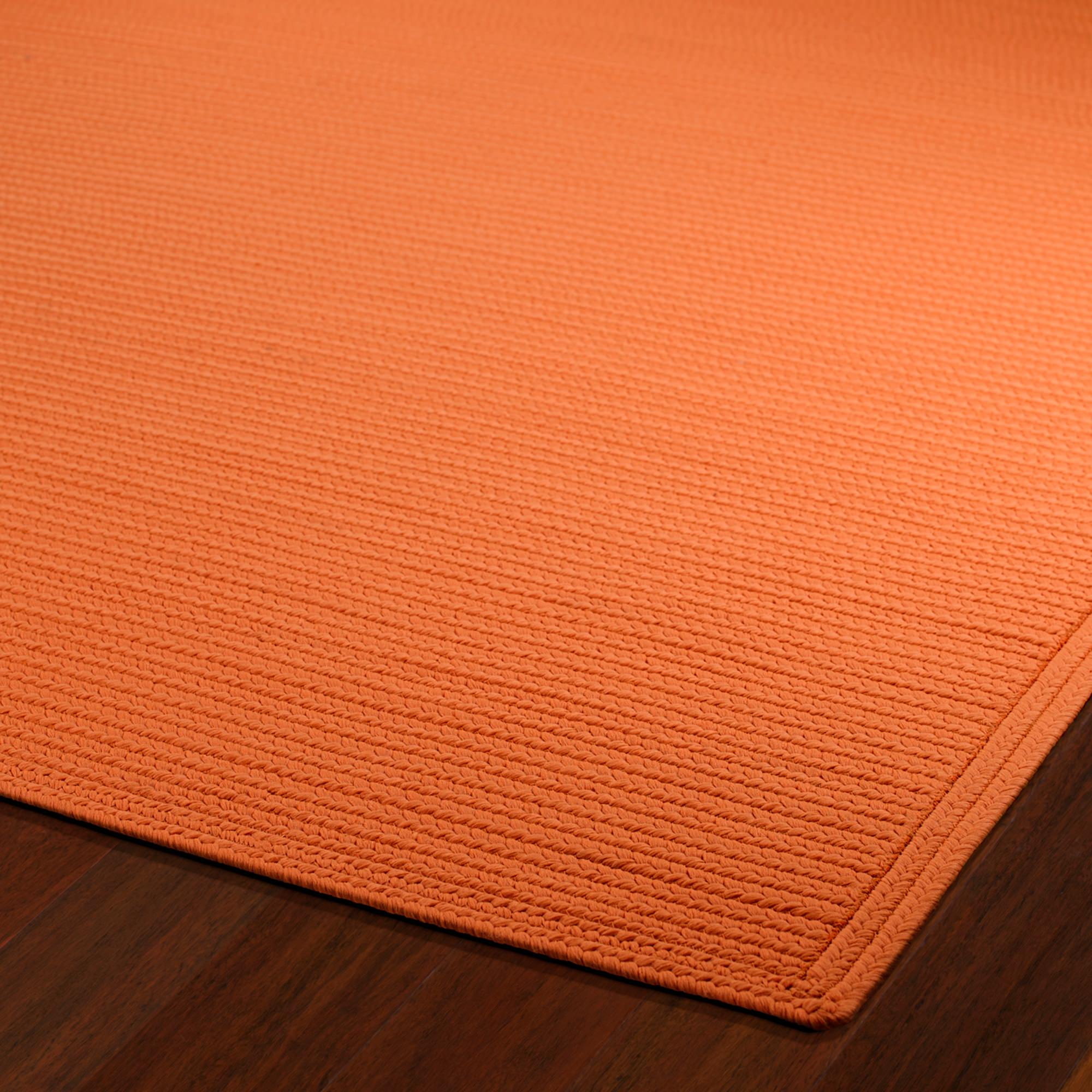 Shop Bikini Orange Outdoor Rug 8ft X 11ft Kaleen Rugs