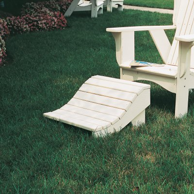 Plantation Collection Footrest - Poly -