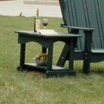 Plantation Collection Side Table - Pine -