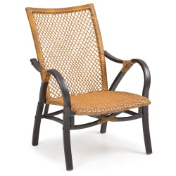 Resin Wicker Lounge Chair