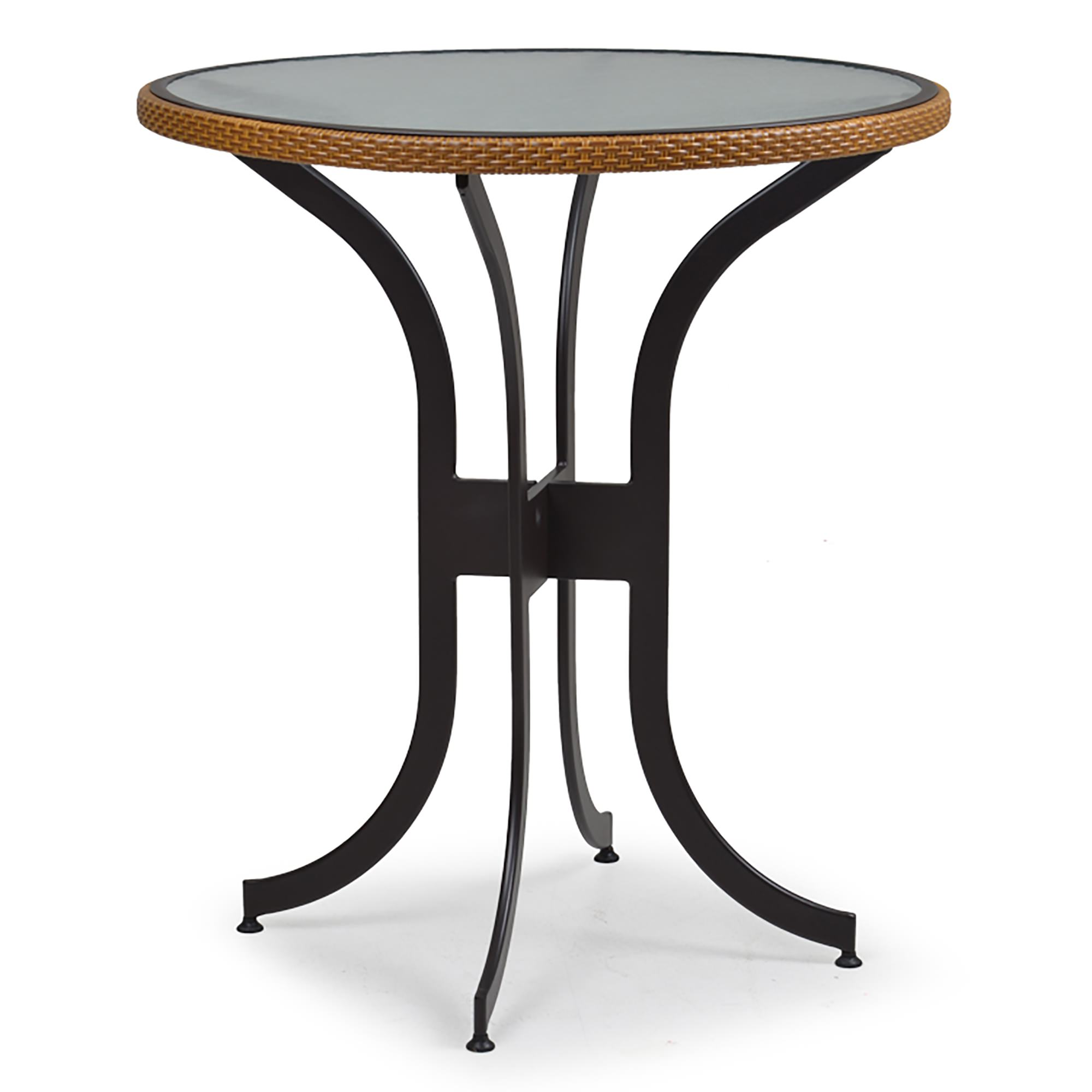 Watermark Living 36 In Resin Wicker Bar Height Table With
