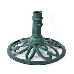 Round Umbrella Stand in Verde