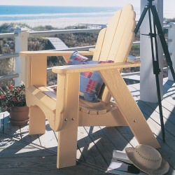 Fanback Collection Adirondack Chair - Poly -