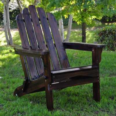 Marina Cedar Adirondack Folding Chair