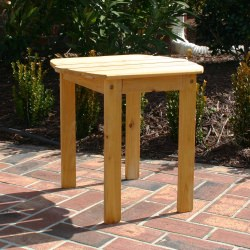 Exclusive Wood Adirondack Side Table - Honey Gold Stain
