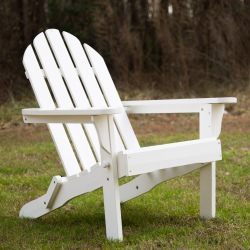 Exclusive Folding Wood Adirondack Chair