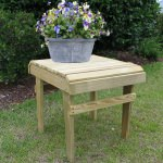 Accent Side Table - Natural