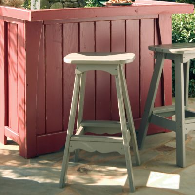 Companion Collection Bar Stool - Poly -