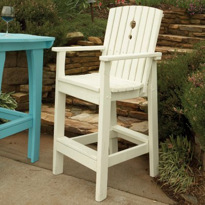 Companion Collection Tall Dining Chair - Poly -